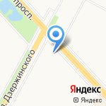 Салон-парикмахерская на карте Ярославля