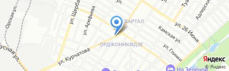 Атриум на карте Ростова-на-Дону