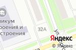 Схема проезда до компании Участковый пункт полиции №6 в Северодвинске