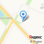 Малахит на карте Ярославля