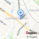 Полюс на карте Ярославля