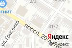 Схема проезда до компании Oriflame в Ростове-на-Дону