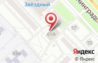 Схема проезда до компании Норд Оптик в Ярославле