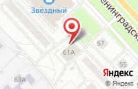 Схема проезда до компании А-Мастер в Ярославле