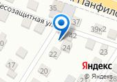 Ростов-бетон на карте