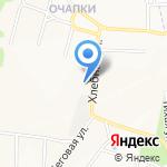 Ярославская картонная тара на карте Ярославля