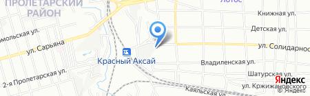 Росбел на карте Ростова-на-Дону