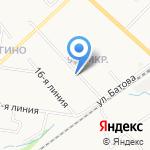 Яблоневый Посад на карте Ярославля