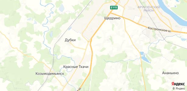 Спицино на карте