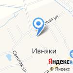 Ивняковская средняя общеобразовательная школа на карте Ярославля
