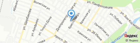 Детский сад №106 Тополек на карте Ростова-на-Дону
