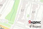 Схема проезда до компании ВидеоМаркет в Рязани