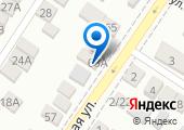 Автокомплекс на Днепропетровской на карте