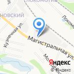 Соть на карте Ярославля