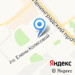 Форавто на карте Ярославля
