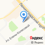 Artberesta на карте Ярославля