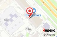 Схема проезда до компании Купец в Ярославле