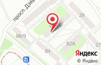 Схема проезда до компании Радуга в Ярославле