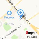 Купецъ на карте Ярославля