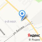 Топбетон на карте Ярославля