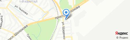 Ателье Галины Пекин на карте Ростова-на-Дону