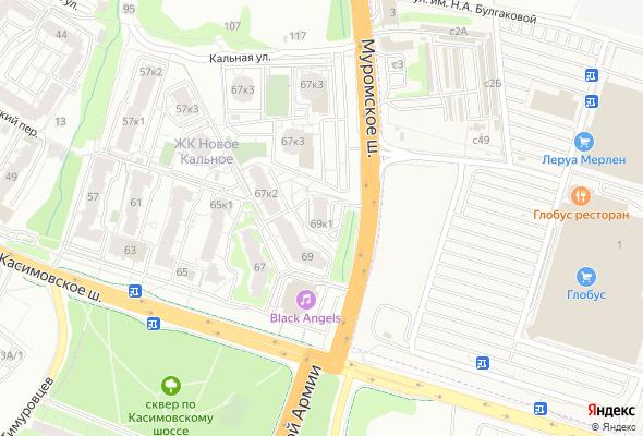 купить квартиру в ЖК Дом на Касимовском шоссе