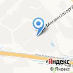 Контур на карте Ярославля