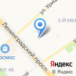 Детский сад №222 на карте Ярославля