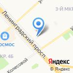 Копеечка на карте Ярославля