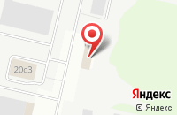 Схема проезда до компании Регион Цемент в Ярославле