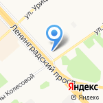 РемАвто76 на карте Ярославля