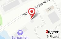Схема проезда до компании Багратион в Ярославле