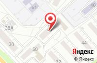 Схема проезда до компании Шоу сумасшедшего профессора Николя в Ярославле