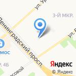 Атлас-С на карте Ярославля