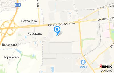 Местоположение на карте пункта техосмотра по адресу г Вологда, ул Ильюшина, д 28А