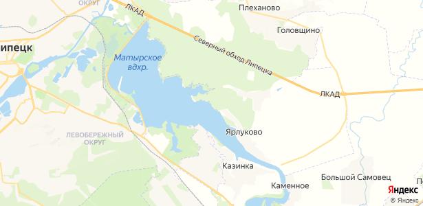 Ярлуково на карте