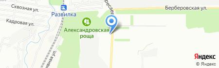 РостЛидер на карте Ростова-на-Дону