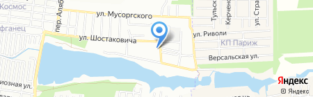 Донимпекс на карте Ростова-на-Дону