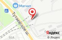 Схема проезда до компании Оптиком в Ярославле