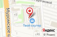 Схема проезда до компании Автостекло в Дядьково
