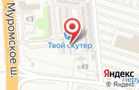 Схема проезда до компании Магазин автоаксессуаров в Дядьково