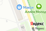 Схема проезда до компании Дамские штучки в Северодвинске