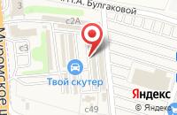 Схема проезда до компании СИЛА ЗВУКА в Дядьково