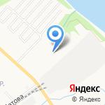 Рыбацкая застава на карте Ярославля