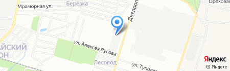 Донквас на карте Ростова-на-Дону