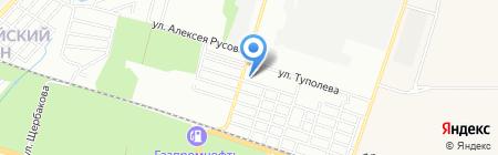 Хим-Дон на карте Ростова-на-Дону