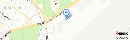 Нэфис Косметикс на карте Ростова-на-Дону
