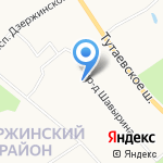 Детский сад №8 на карте Ярославля