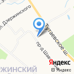Вояж на карте Ярославля