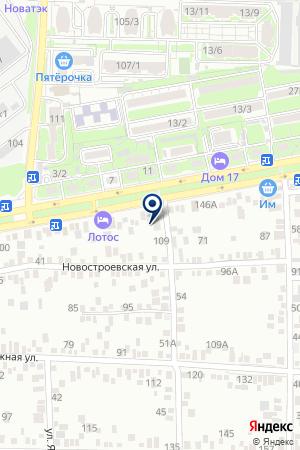 ТФ ТАИСИЯ на карте Шахт